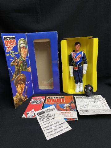 ACTION MAN - SPACE RANGER TALKING COMMANDER - VINTAGE BOXED - NICE CONDITION (Ref 1)